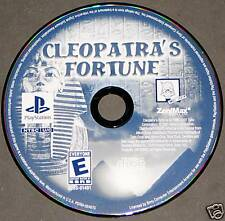 Cleopatra's Fortune (Playstation PS1 PS2) Disk Only VGC