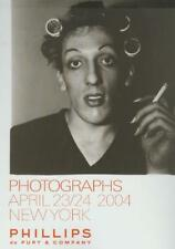 Phillips  // Vintage Contemporary Photographs Post Auction Catalog 2004