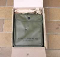 TELEPHONE  MILITAIRE DE CAMPAGNE EE8 US  WW2  COMPLET NEUF DE STOCK