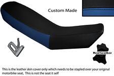 ROYAL BLUE & BLACK CUSTOM FITS KTM ADVENTURE 990 950 DUAL LEATHER SEAT COVER