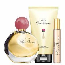 Avon Far Away Original Perfume 50ml EDP, Body Lotion 150ml & Purse Spray 10ml