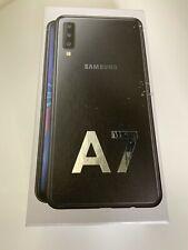 SAMSUNG GALAXY A7 (2018) SM-A750FN- 64GB - BLACK - Unlocked - Smartphone Mobile