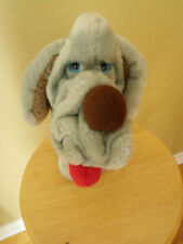 Wrinkles Dog Hand Puppet 1984 Ganz Bros Plush The Heritage Collection