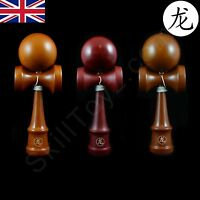 Dragon Kendama Full Sized Varnished Wooden Skill Toy Choice of colours UK SELLER