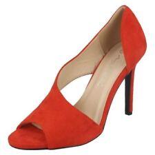 Escarpins Mules rouge pour femme