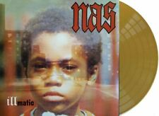 Nas - illmatic Exclusive Limited Edition Gold Color Vinyl LP VGNM ONLY 500 MADE