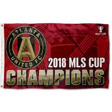 Atlanta United Football Club MLS Cup 2018 Champions 3' x 5' Flag