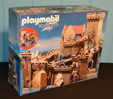 PLAYMOBIL KNIGHTS 6000 ROYAL LION CASTLE COMPLETE W/EXTRAS 6039 CATAPULT
