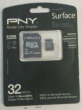 PNY - 32GB microSDHC Class 10 UHS-1 Memory Card - Black