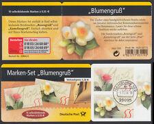 """Bund Markenheftchen 55 a gest. """"Blumengruß"""" 2004 Vollstempel Hamburg"""