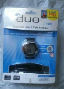 New DUO Sportline 1010 Dual Use Heart Rate Monitor
