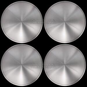 "14"" Set of 4 Solid Moon Wheel Covers Snap On Hub Caps fit R14 Tire & Steel Rim"