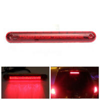 24 LED Universal Car Third 3rd Rear Tail Light High Level Stop Brake Lamp Red