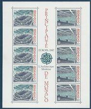 MÓNACO - BF Nº37 - ColeccióN Hoja Nueva 1987 - EUROPA