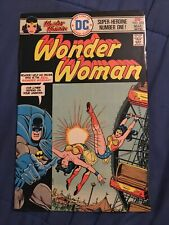 WONDER WOMAN #222 Batman Cover Disneyland Parody Bronze Age High Grade [DC,1976]