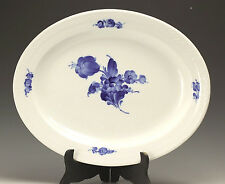 Royal Copenhagen Blue Flower Braided Oval Platter, hand painted