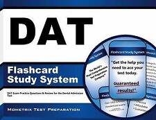DAT Flashcard Study System: DAT Exam Practice Questions and Review for the Denta