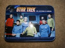 Star Trek playing cards in a tin - new and sealed