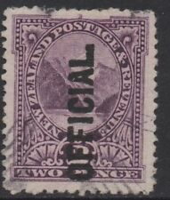 Machine Cancel Used New Zealand Stamps