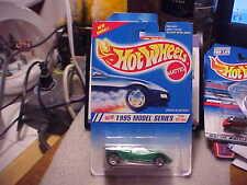 Hot Wheels 1995 Model Series #1 Speed Blaster Green with 5 Spoke Wheels
