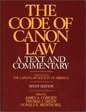 The Code of Canon Law a Text and Commentary, Study Edition-ExLibrary