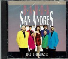 Banda San Andres  Loco Tu Forma de Ser       BRAND NEW SEALED CD