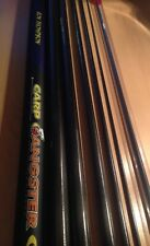 FISHING POLE 11 MTR CARBON GANSTER POLE + TOP KIT X 1 POLE FISHING