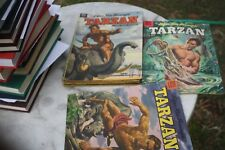 11 Tarzan Dell Comics 1950's most very good, each listed description & numbers