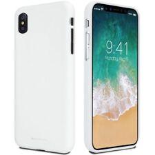 Mercury Goospery Soft Case Gel TPU Cover Skin Shell for Apple iPhone X 10 White