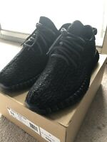 Adidas Yeezy Boost 350 2016 Pirate Black Size 11 (1000%AUTHENTIC)
