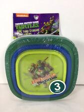 NEW Nickelodeon NINJA TURTLE Half Shell Heroes Lunch Food Storage CONTAINERS