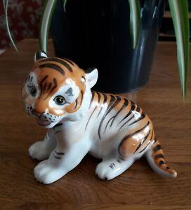 Lomonosov porcelain Tiger Cub