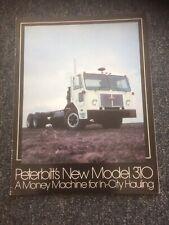 PETERBILT MODEL 310 TRUCK BROCHURE 1978 - RARE