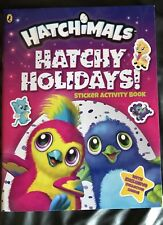 Hatchimals: Hatchy Holidays! Sticker Activity Book by Hatchimals Paperback Book