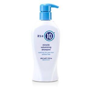 NEW It's A 10 Miracle Volumizing Shampoo 295.7ml Mens Hair Care