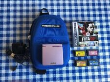 Gameboy Advance Sp including 5 games and carry case