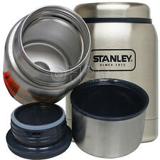 0.4L STANLEY ADVENTURE FOOD JAR FLASK HOT COLD THERMOS STAINLESS STEEL CAMPING