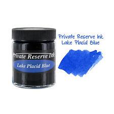 """Private Reserve Fountain Pen Bottled Ink, 50ml, Lake Placid Blue (PR02-IPB)"""