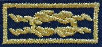 Boy Scout Official Unit Leader Award of Merit Gold Square Knot Patch Emblem New