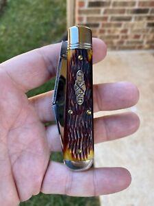 Great Eastern Cutlery 86 Autumn Gold Jigged Bone GEC 861219 Oil Field Jack knife