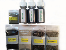 Ultimate Grow Kit! Age Old, Azomite, Bat Guano, Compost Tea, Organic Fertilizer