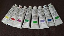 Windsor & Newton oil paints (8 tubes - together)