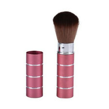 Professionals Makeup Metal Retractable Cosmetic Brush Blush Hot Fashion Gift Red