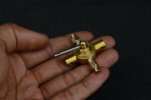 Reversible control valve for steam engine model