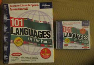 101 Languages of the World 4 CD Set Transparent Windows MAC