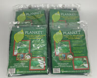 NEW Lot of 4 The Planket Frost Protection Plant Cover Protector 6 ft Round