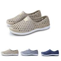 Mens Casual Sneakers Water Shoes Beach Clog Hole Slip On Slides Sandals Summer