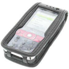 Cell Phone Case for Sony Ericsson k660i with View Function and Belt Clip Black