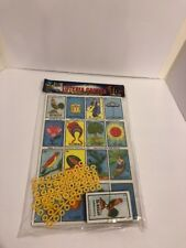 Loteria Gacela. Mexico Lottery Game. With Cards, Charts And Pieces. Mexico. 9x12