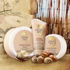 Avon Blissfully Nourishing Set 3 pcs Body Butter + Hand Foot Scrub + Elbow Cream